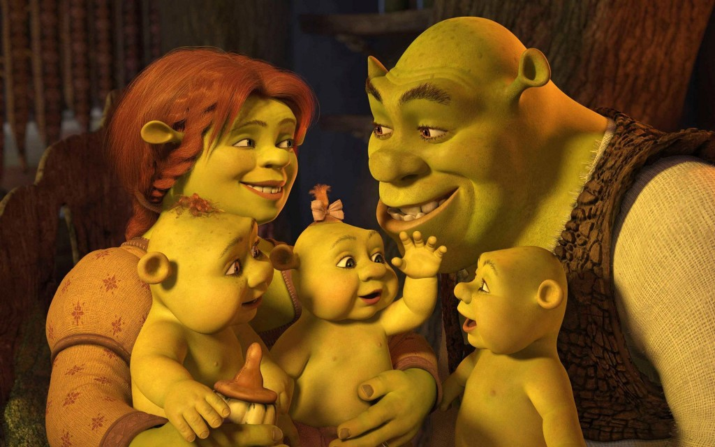 shrek family desktop wallpapers