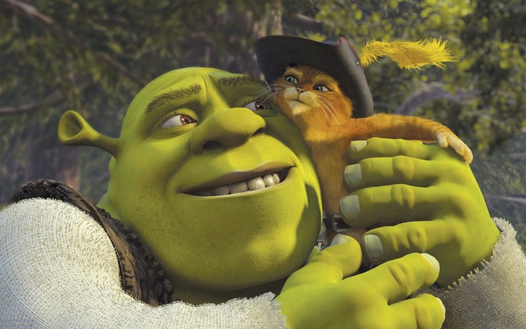 shrek movie desktop wallpapers