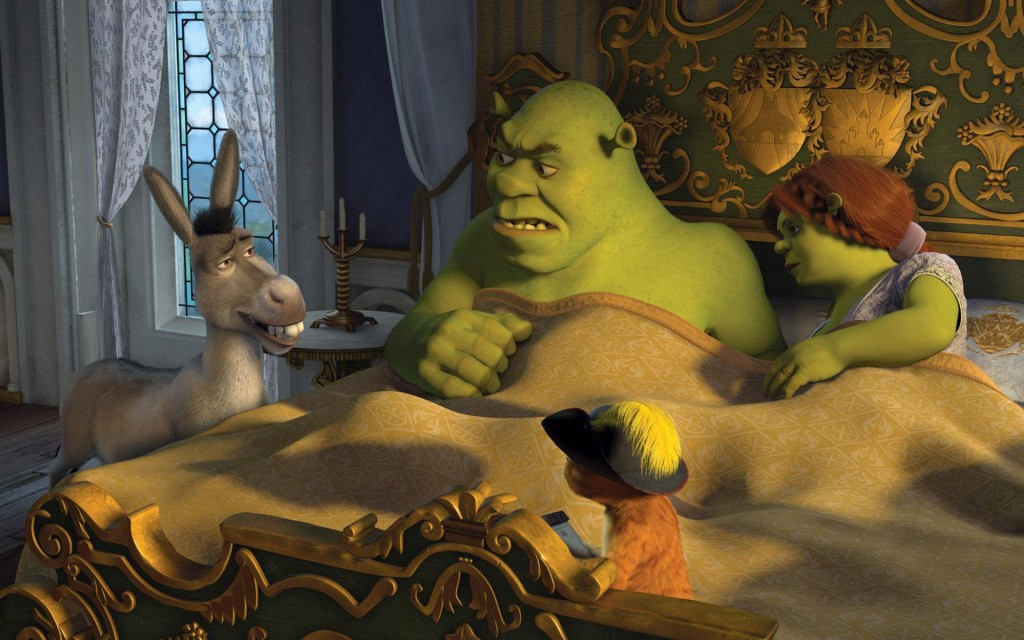 shrek movie wallpapers