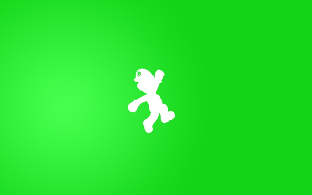 simple luigi wallpapers
