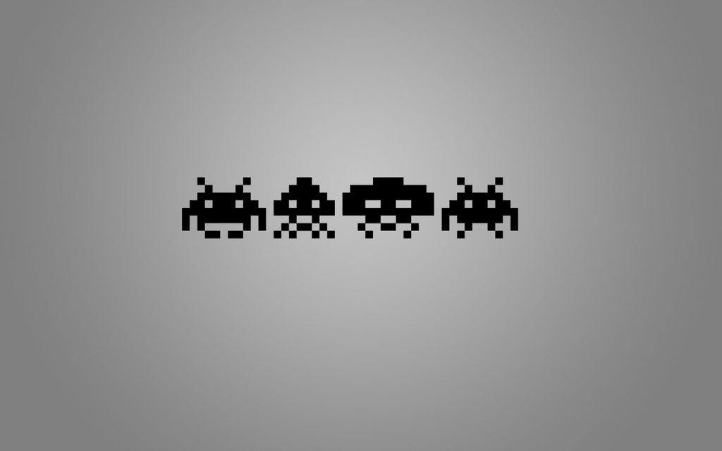 space invaders hd wallpapers