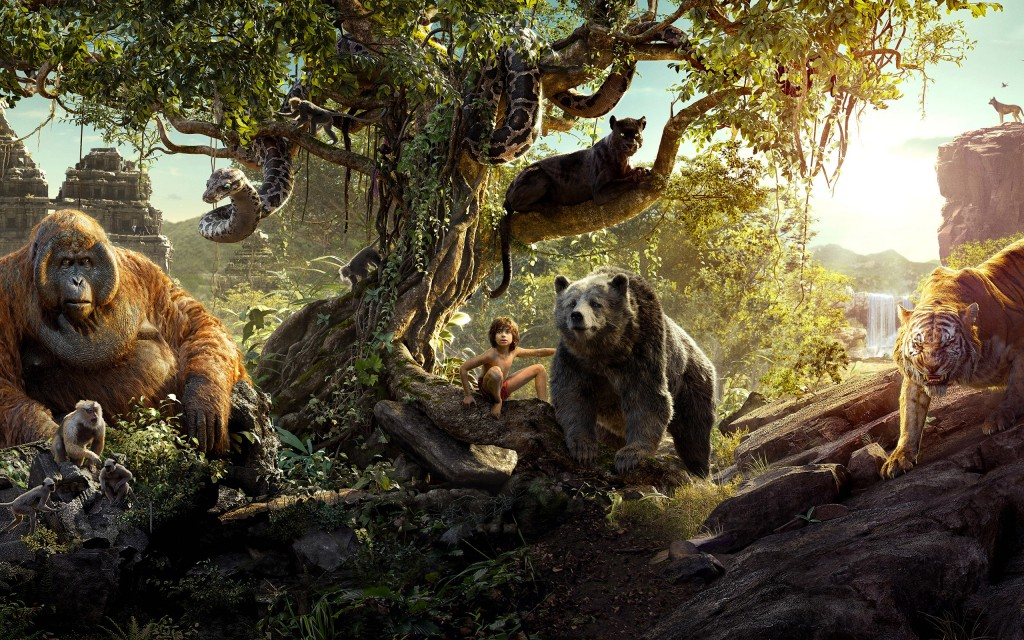 the jungle book movie background wallpapers