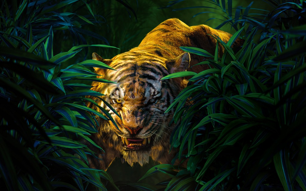 the jungle book shere khan wallpapers