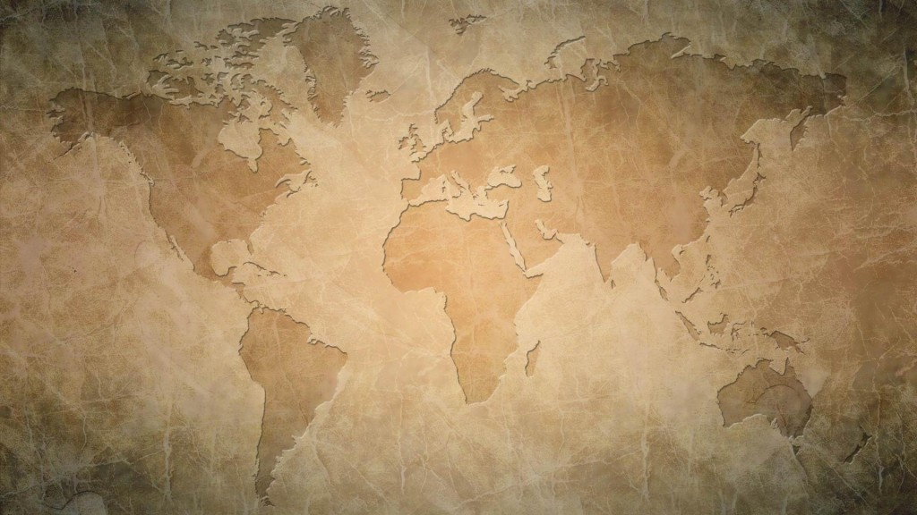 world map desktop wallpapers