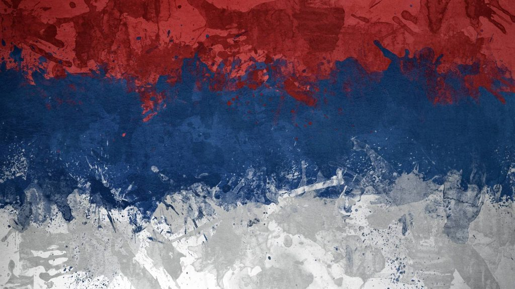 abstract serbia flag wallpapers