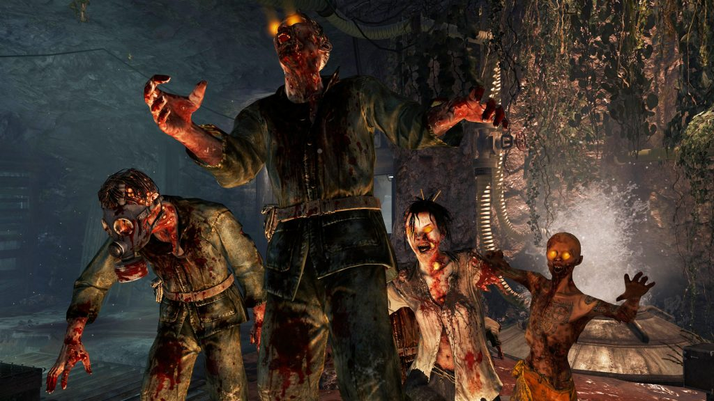 call of duty zombies widescreen wallpapers