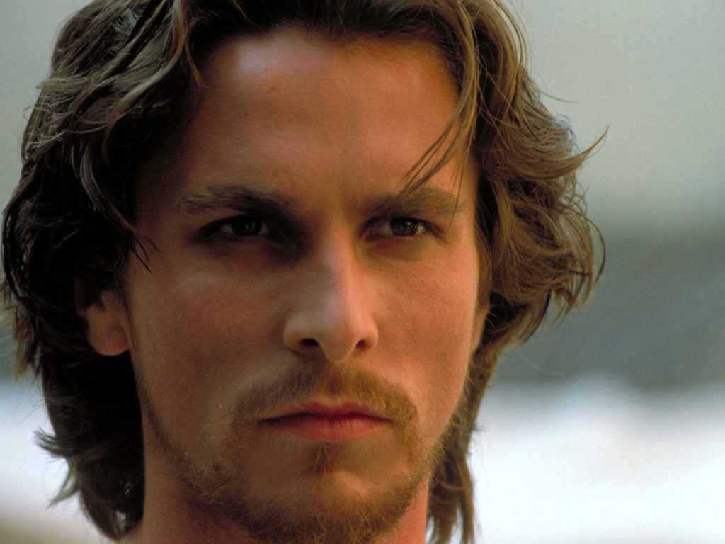 christian bale long hair wallpapers
