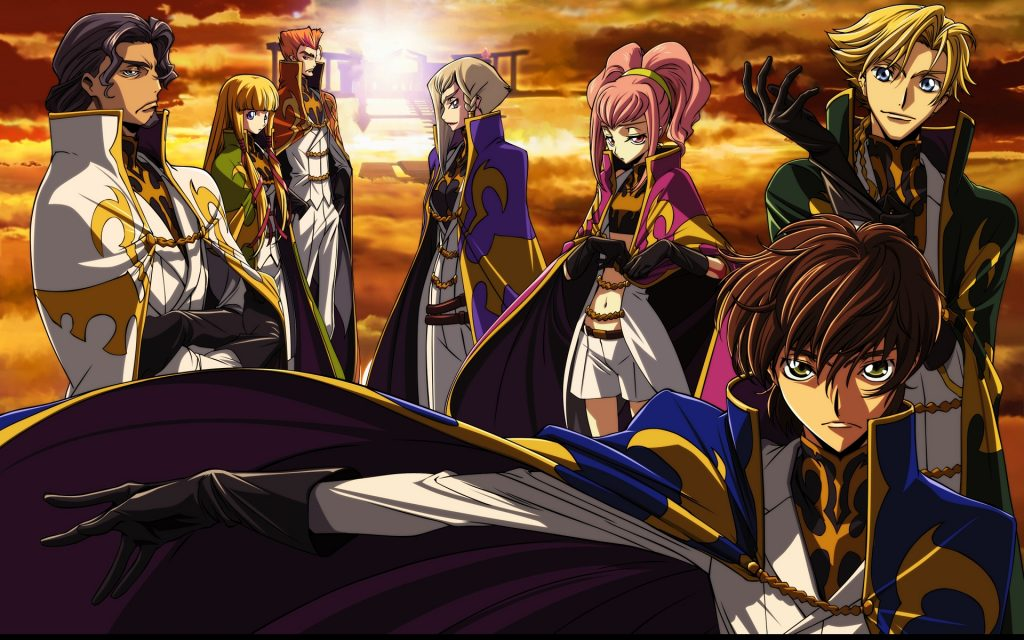 code geass characters wallpapers