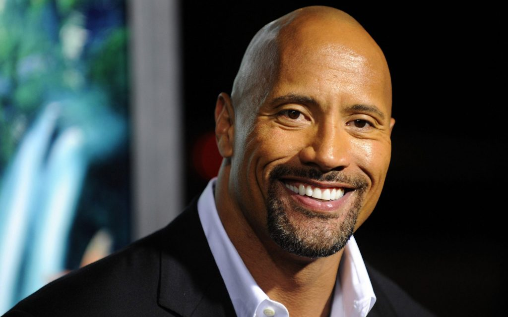 dwayne johnson smile hd wallpapers