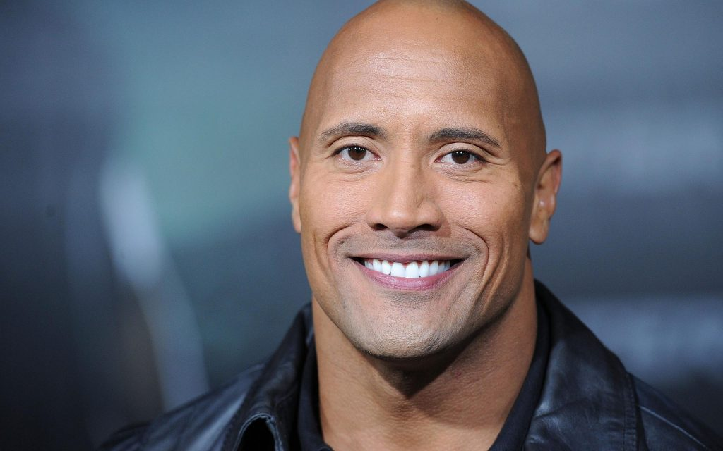 dwayne johnson smile background wallpapers