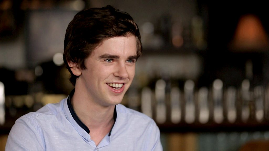 freddie highmore smile wallpapers