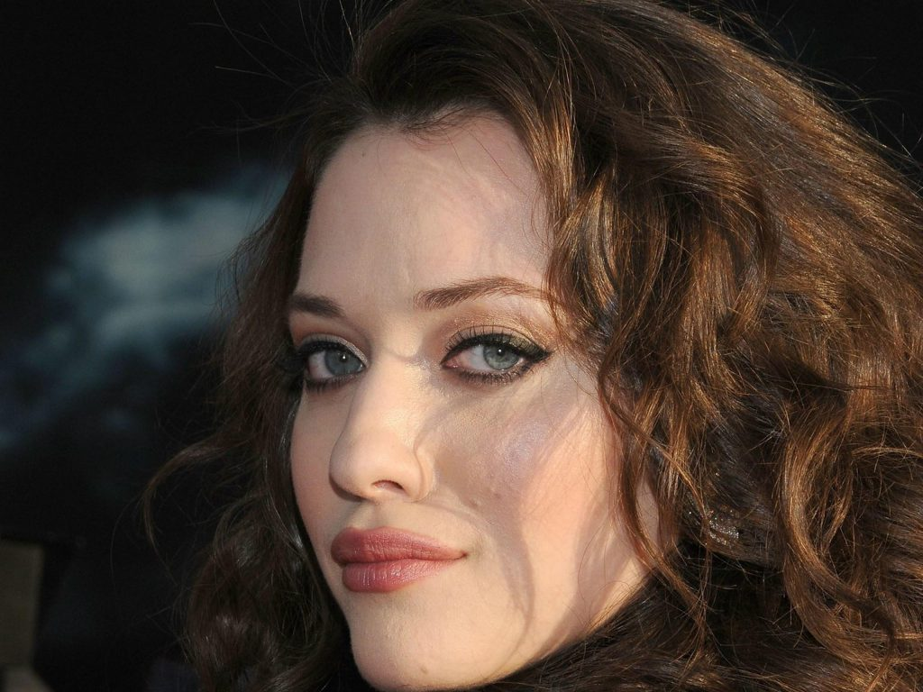 kat dennings face background wallpapers