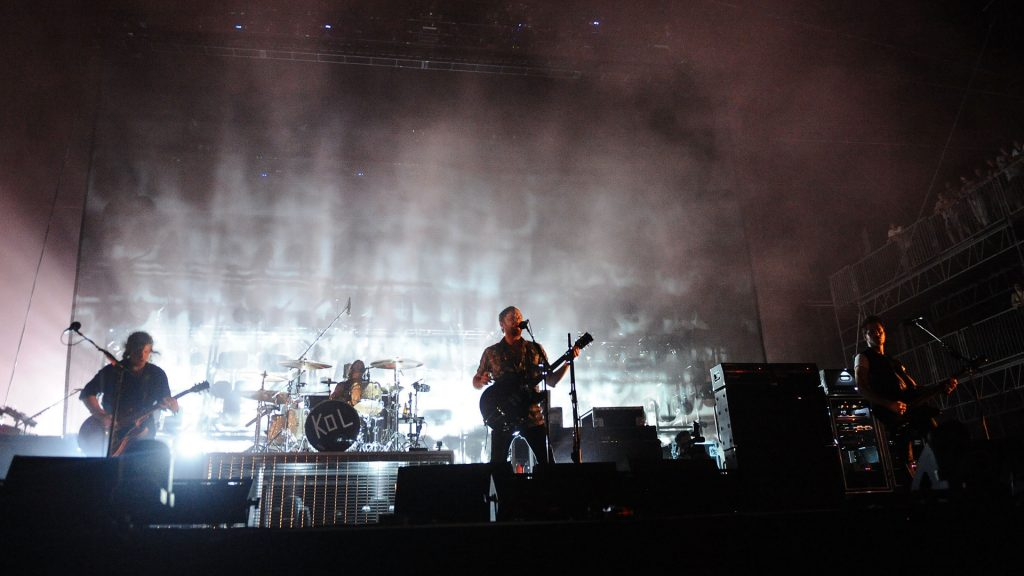 kings of leon performance wallpapers