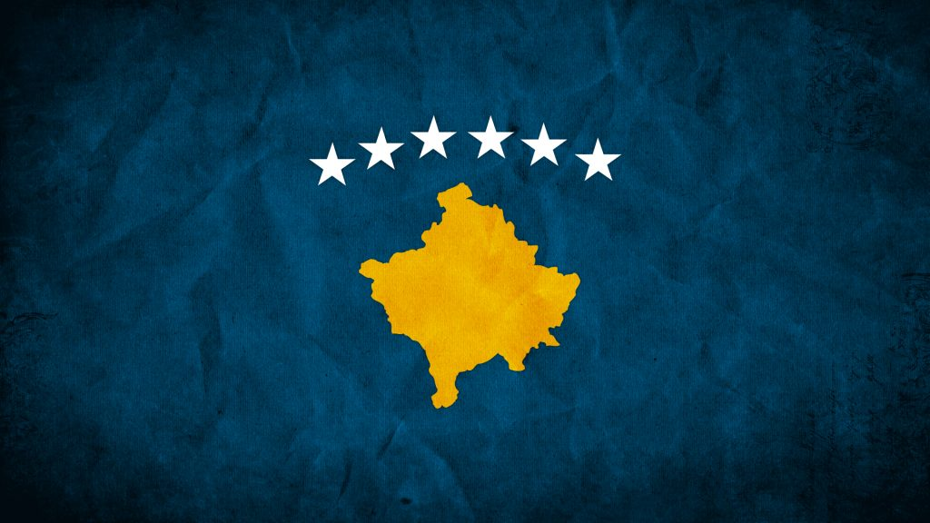 kosovo flag desktop wallpapers