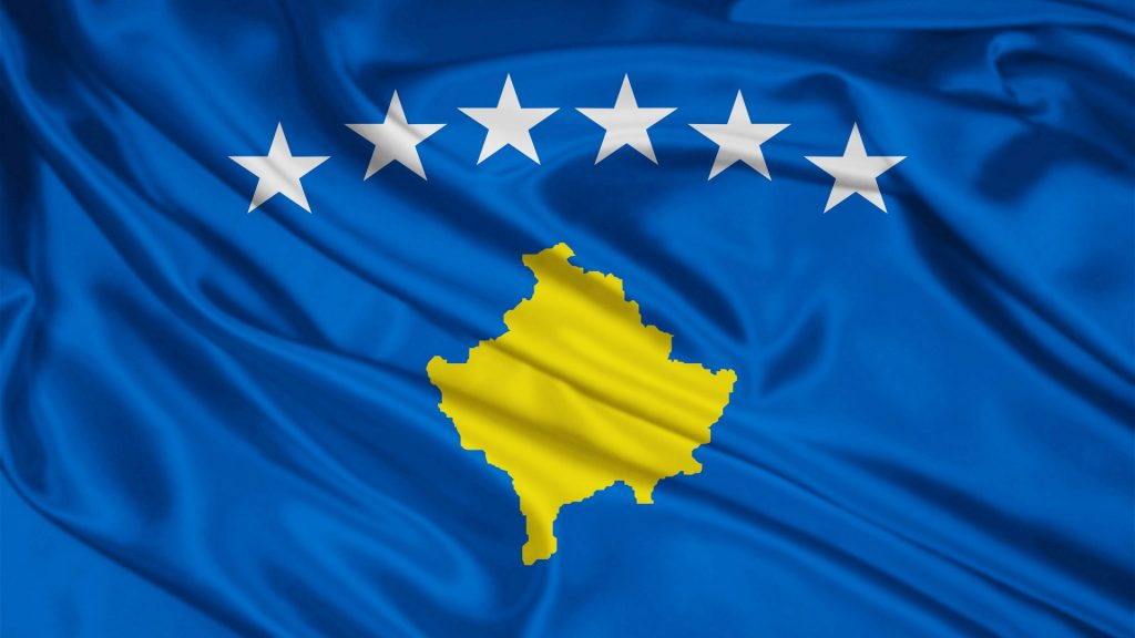 kosovo flag wallpapers