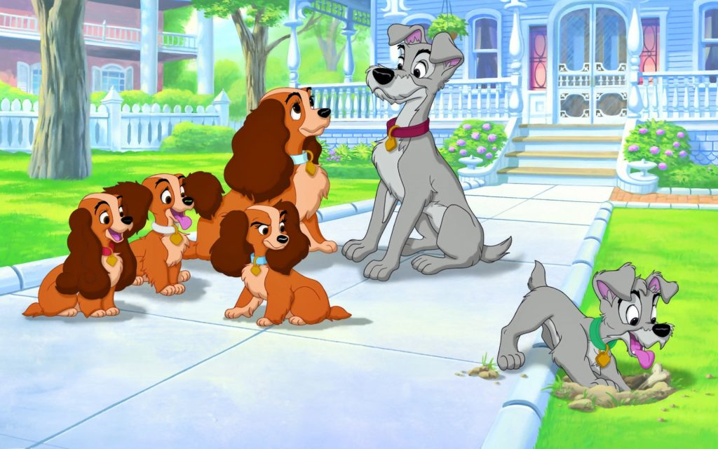 lady and the tramp wallpapers