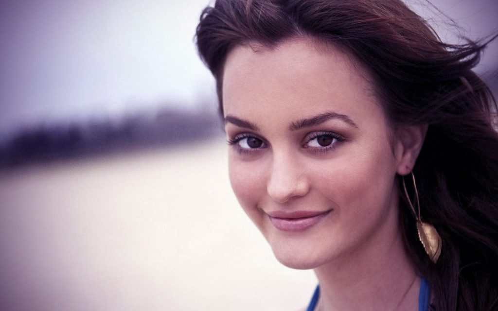 leighton meester face wallpapers