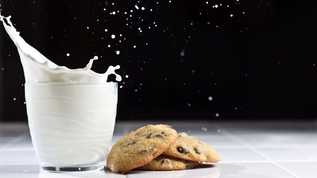 milk and cookies widescreen wallpapers