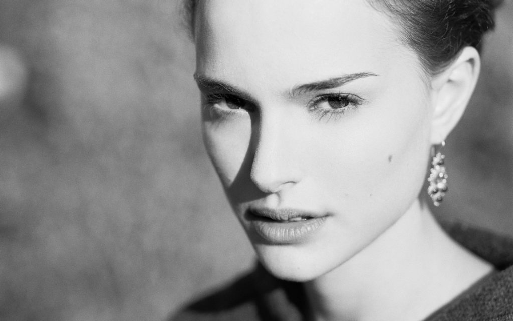 natalie portman face widescreen wallpapers