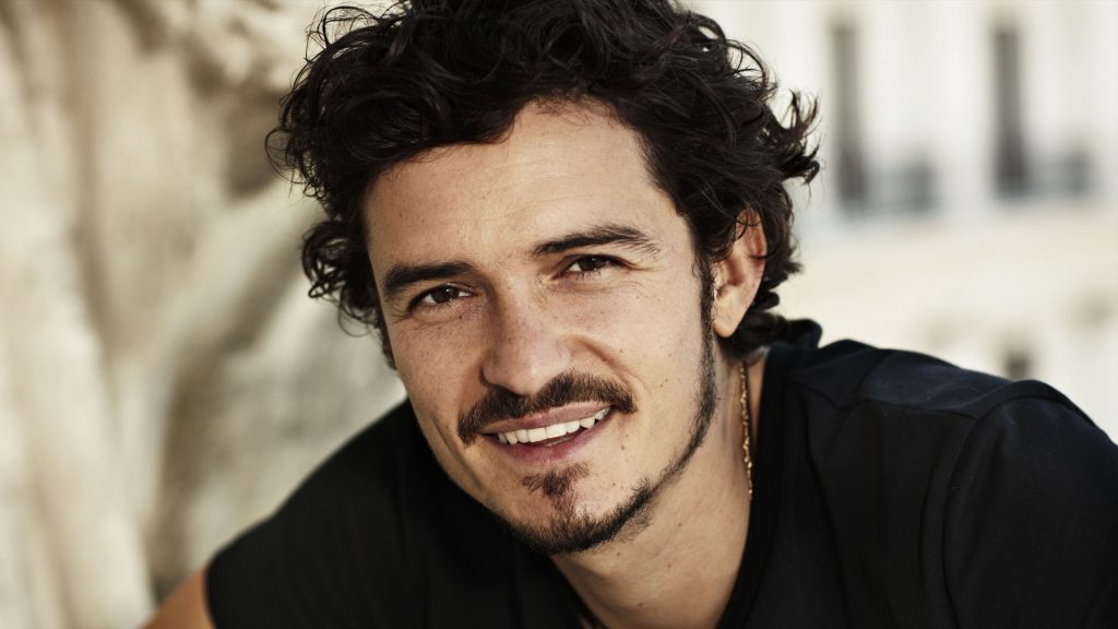 orlando bloom smile wallpapers