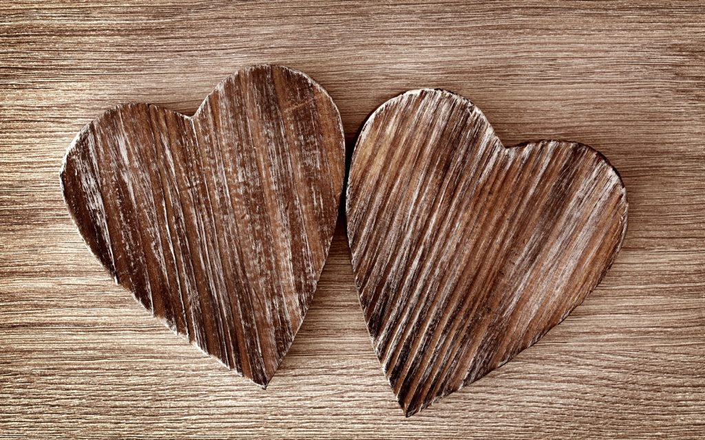 rustic hearts background wallpapers