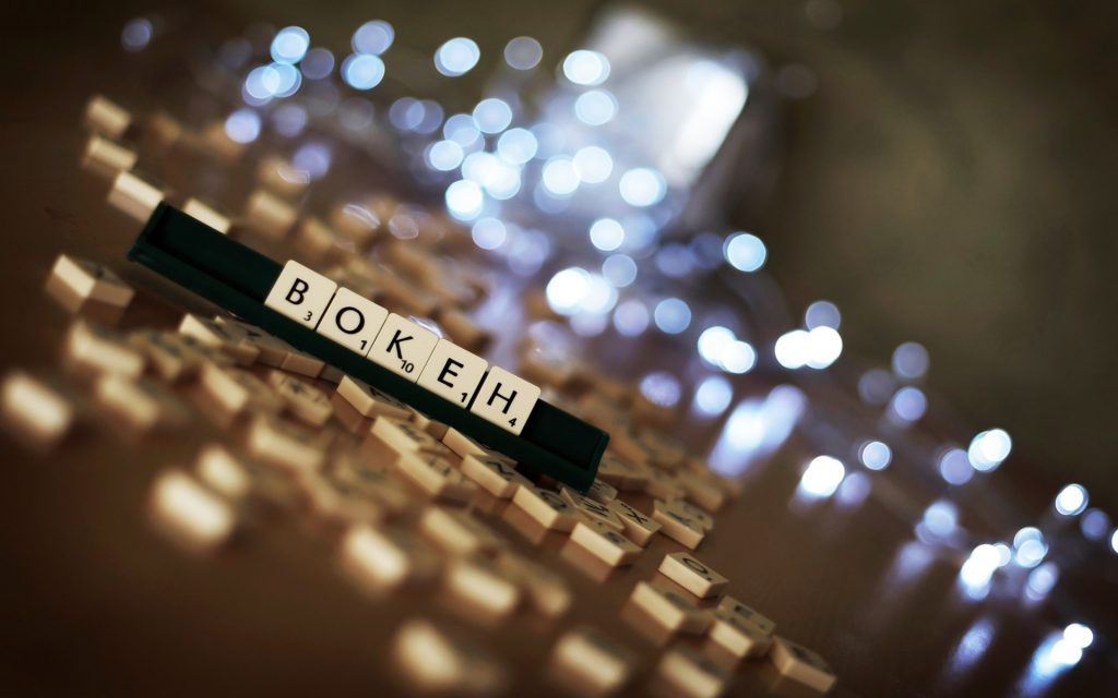 scrabble bokeh desktop wallpapers