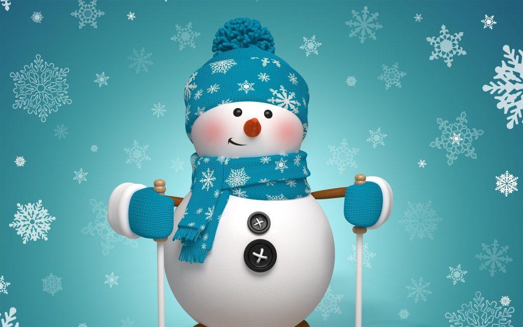 snowman art widescreen wallpapers