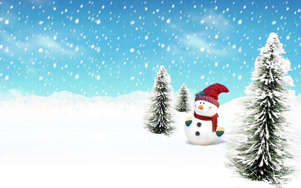 snowman computer wallpapers