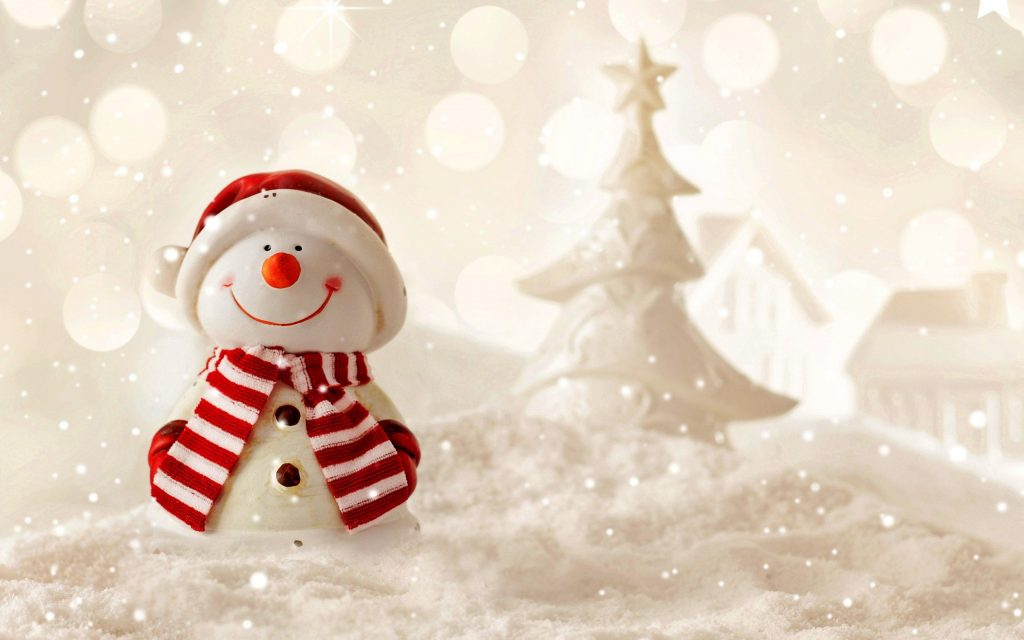 snowman holidays background wallpapers