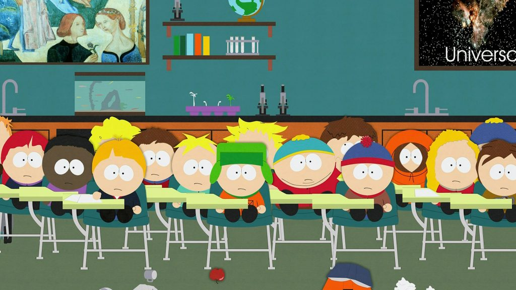 south park classroom wallpapers