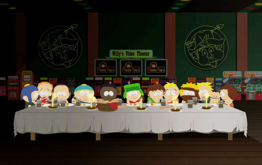 south park last supper wallpapers
