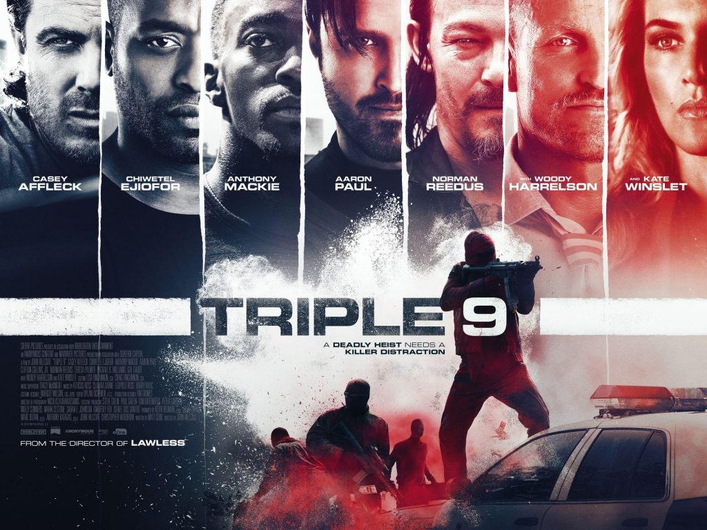 triple 9 movie poster wallpapers
