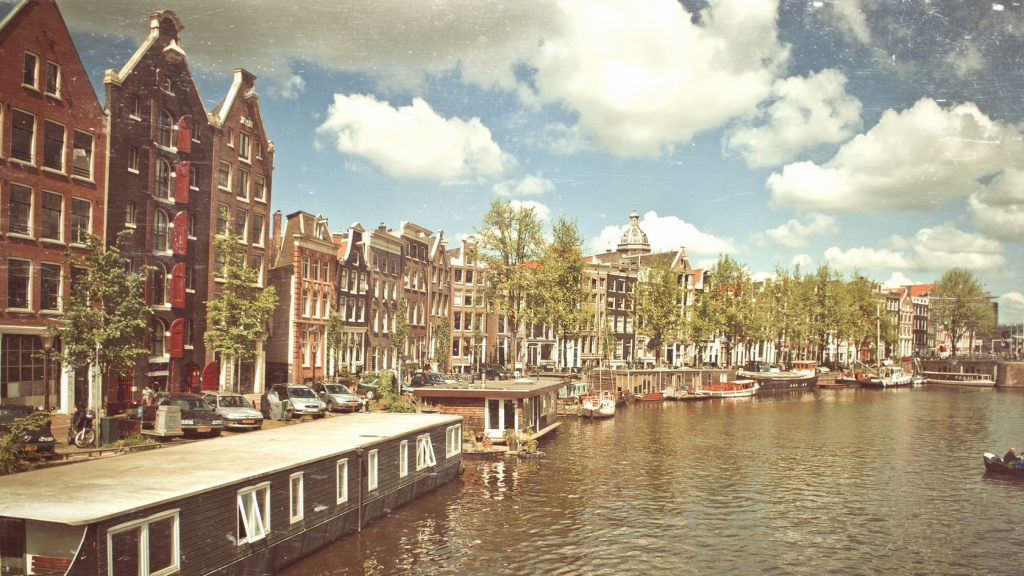 vintage amsterdam widescreen wallpapers