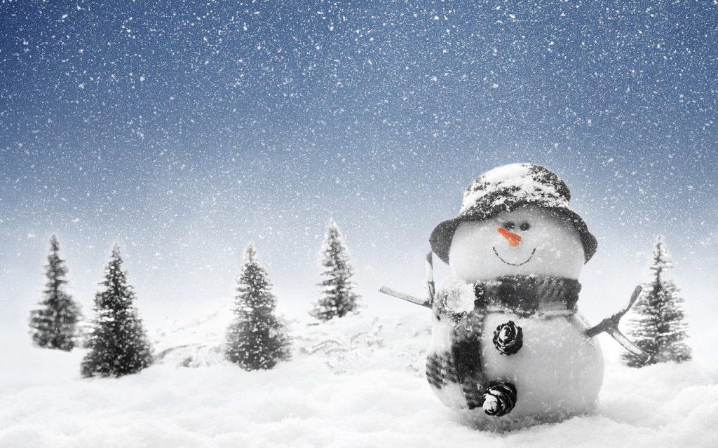 wonderful snowman wallpapers