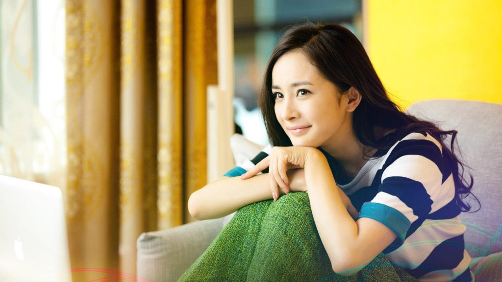 yang mi widescreen wallpapers