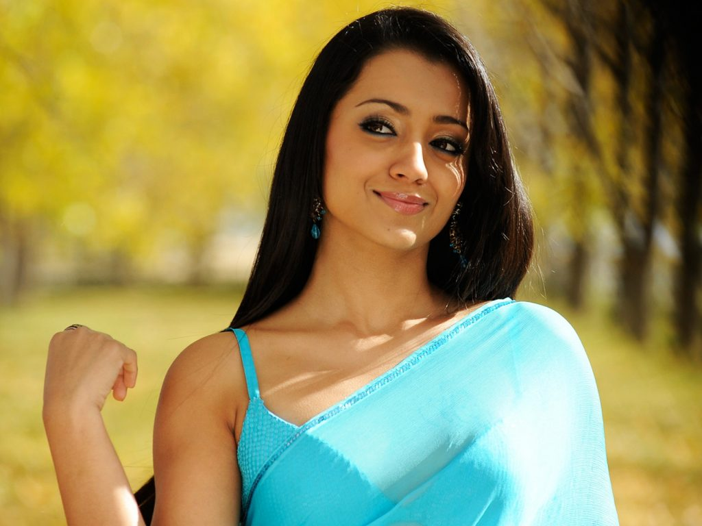 beautiful trisha krishnan wallpapers