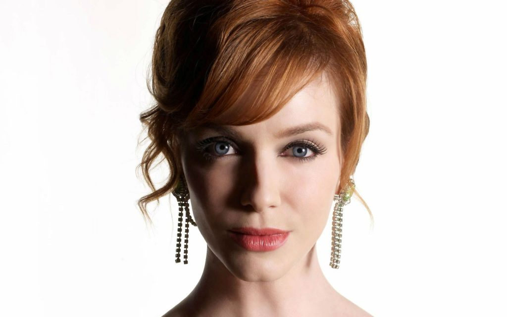 christina hendricks face wallpapers