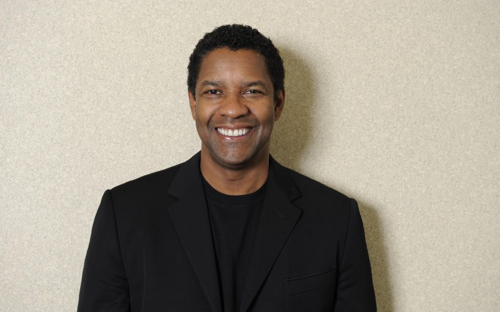 denzel washington smile widescreen wallpapers