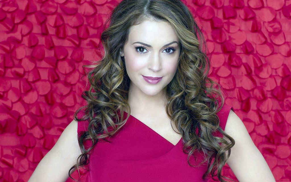 free alyssa milano wallpapers