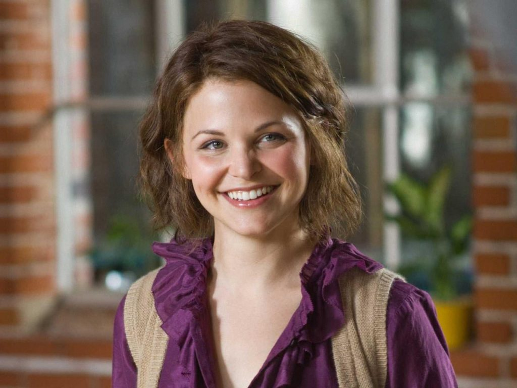 ginnifer goodwin smile wallpapers
