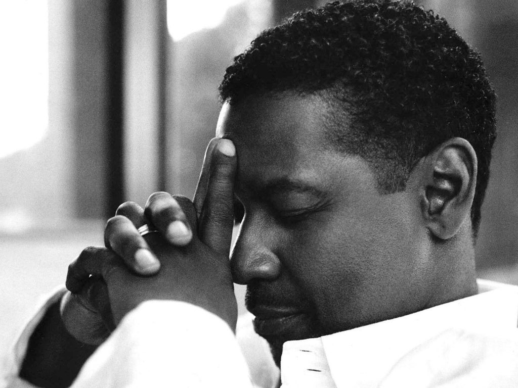 monochrome denzel washington computer wallpapers