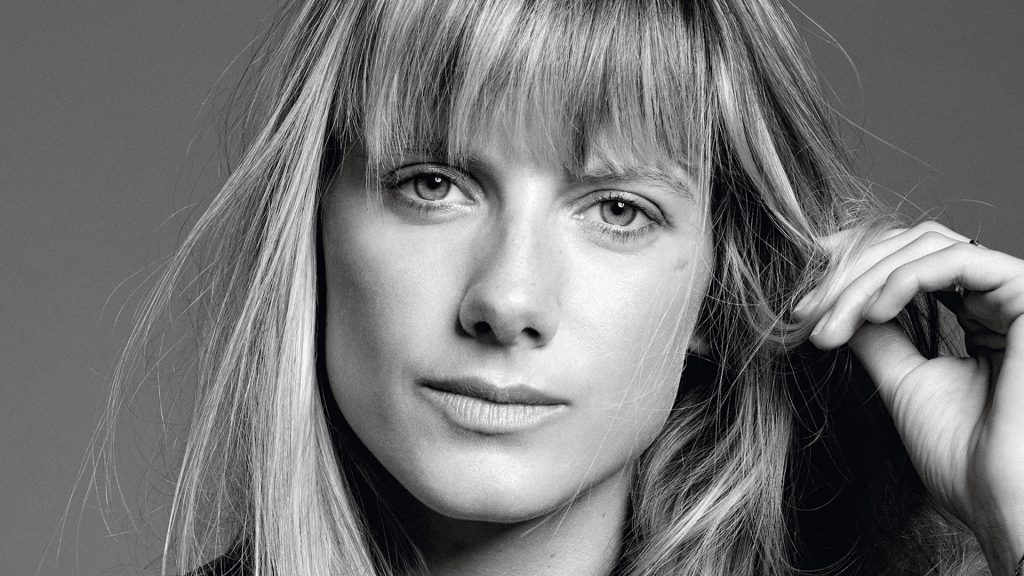 monochrome melanie laurent face wallpapers