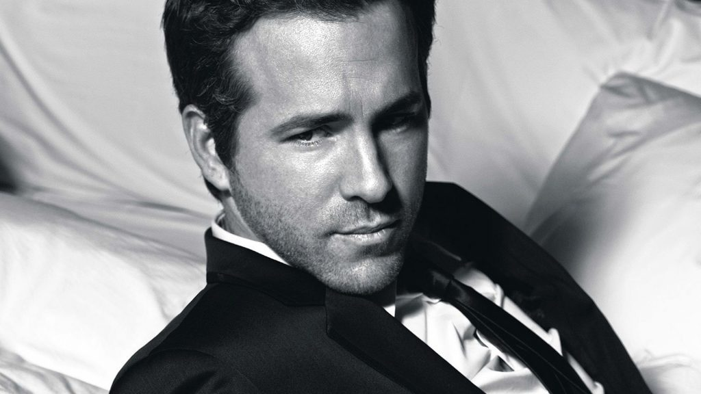 monochrome ryan reynolds wallpapers