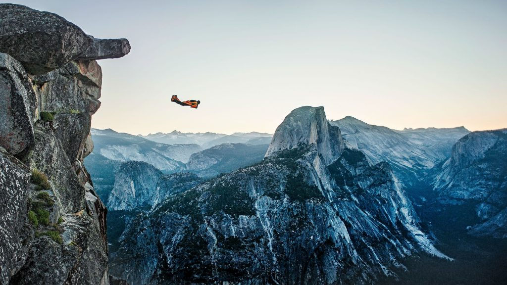 skydiving wide hd -wallpapers