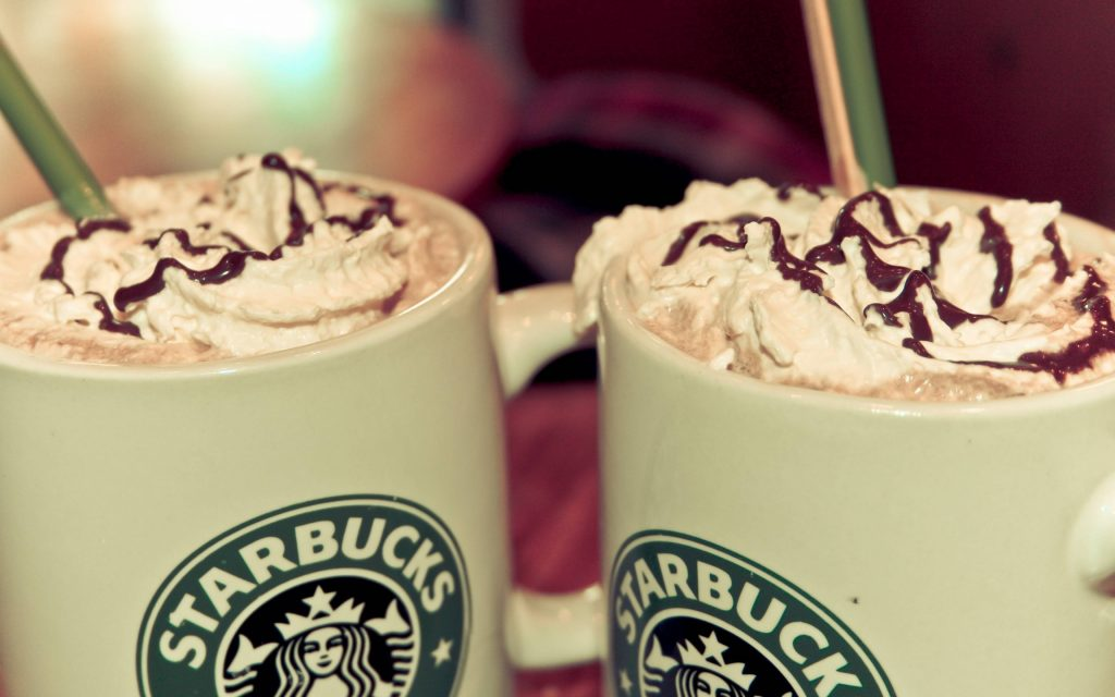 starbucks drinks wide wallpapers