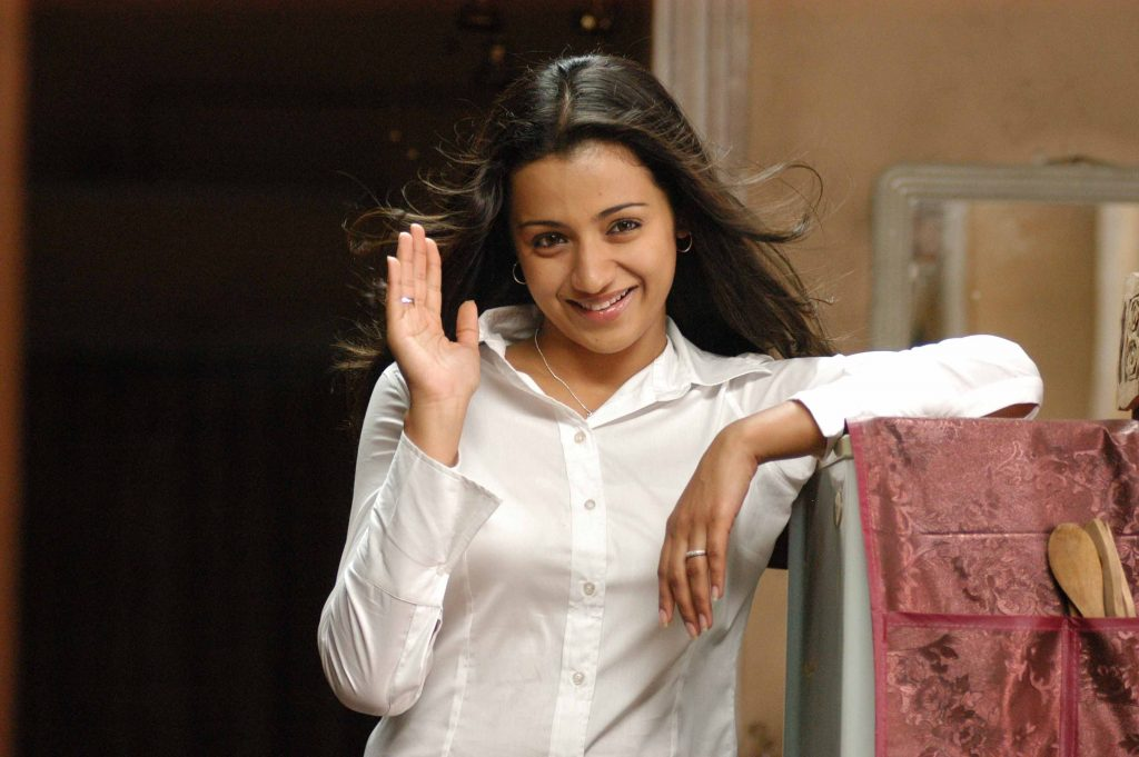 trisha krishnan widescreen wallpapers