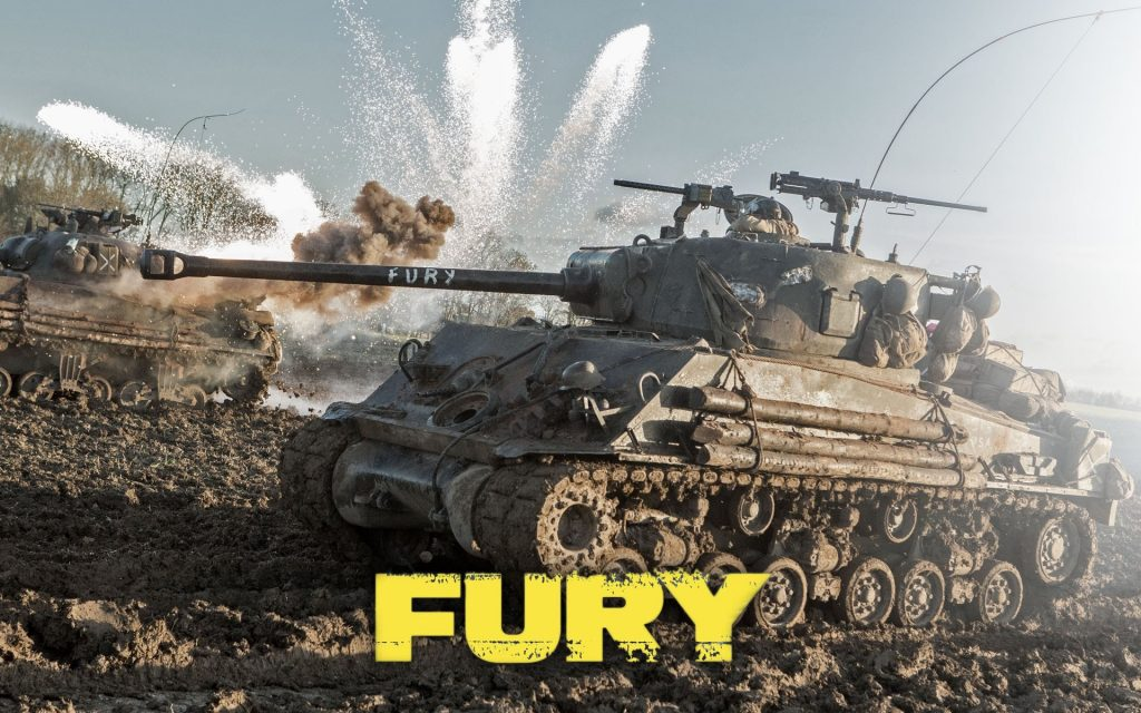 fury movie desktop wallpapers