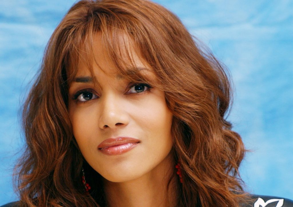 halle berry face wallpapers