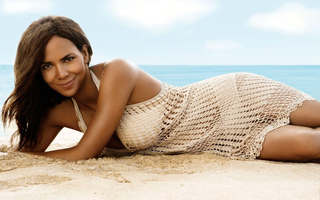 halle berry swimsuit wallpapers