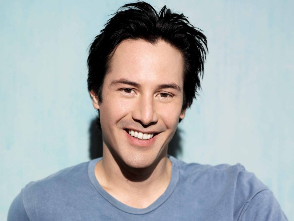 keanu reeves smile wallpapers